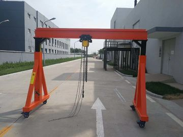 A Frame Type Mobile Jib Crane Huge Lifting High Efficiency Easy Operation
