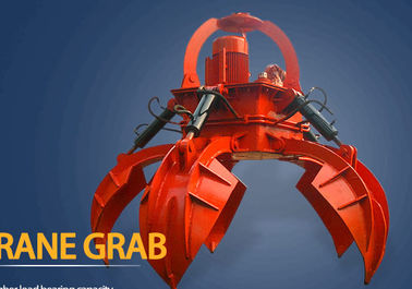 Material Handling 50T Clamshell Hydraulic Grab Bucket